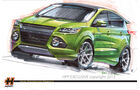 Ford Escape ST Sema 2012