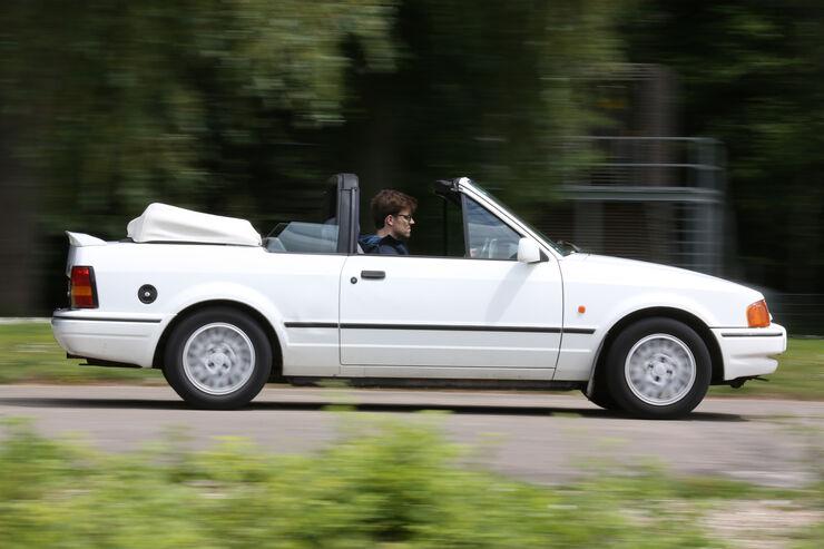 Ford Escort 1.6 XR3i Cabriolet, Seitenansicht