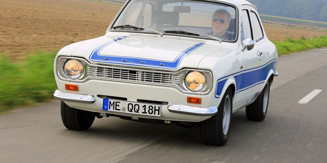 Ford Escort I RS 2000, Frontansicht