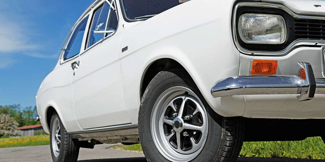 Ford Escort I, Rad, Felge