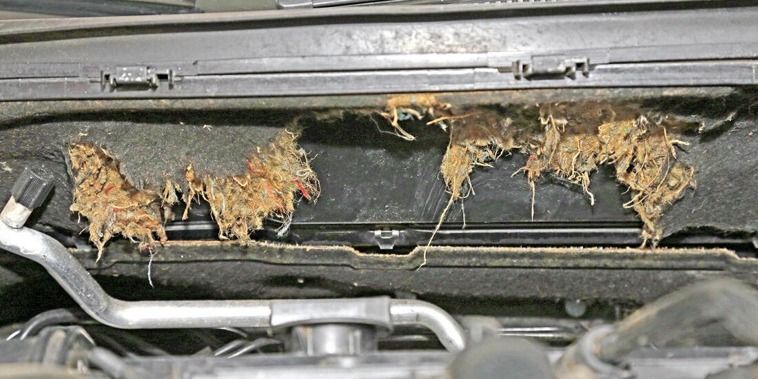 Ford Fiesta 1.4, Dämmmaterialien