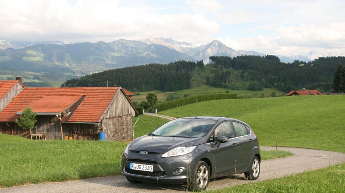 Ford Fiesta 1.4, Frontansicht