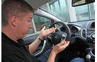 Ford Fiesta 1.4, Jens Dralle, Cockpit, Parkautomatik