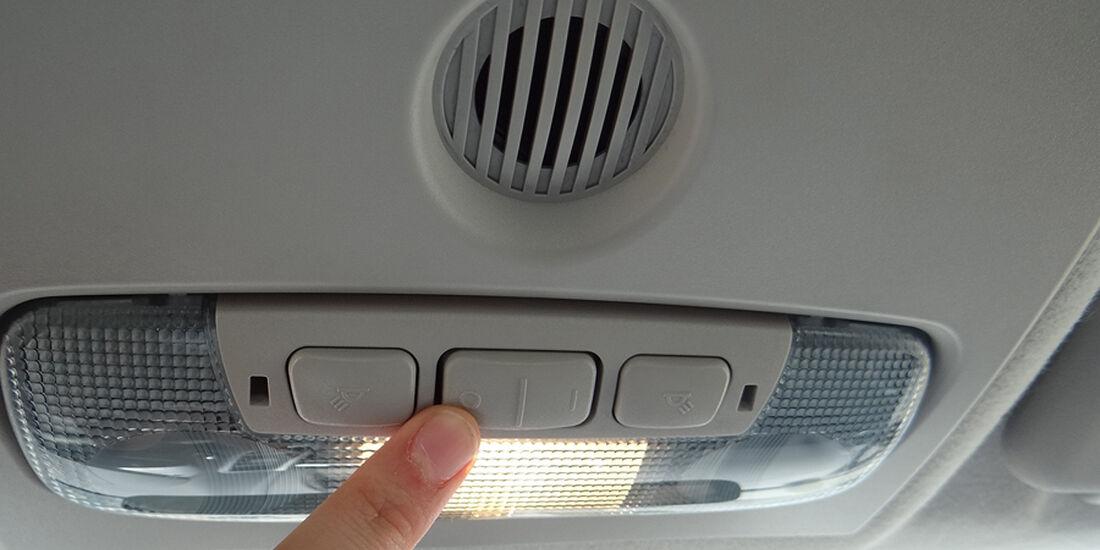 Ford Fiesta 1.4 im Innenraum-Check, Dachhimmel