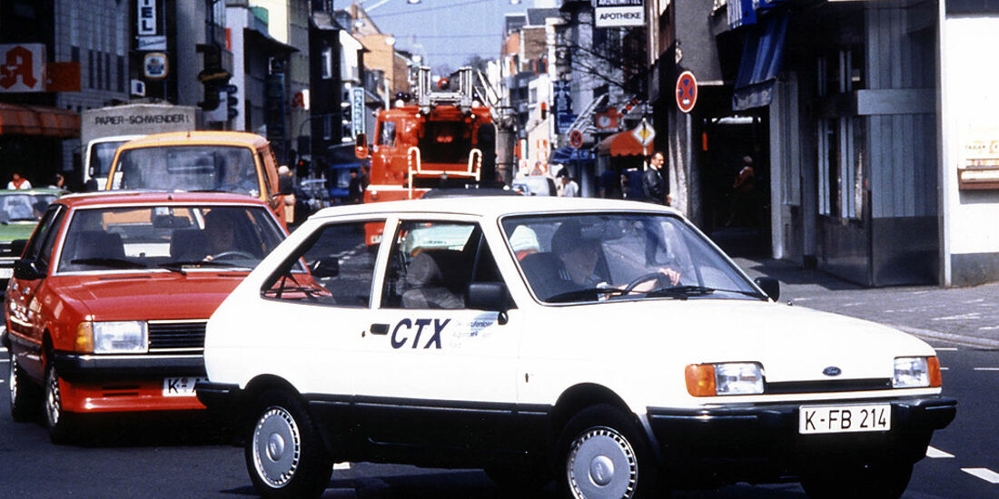 Ford Fiesta 1986