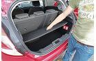 Ford Fiesta, Kofferraum, Zwischenboden