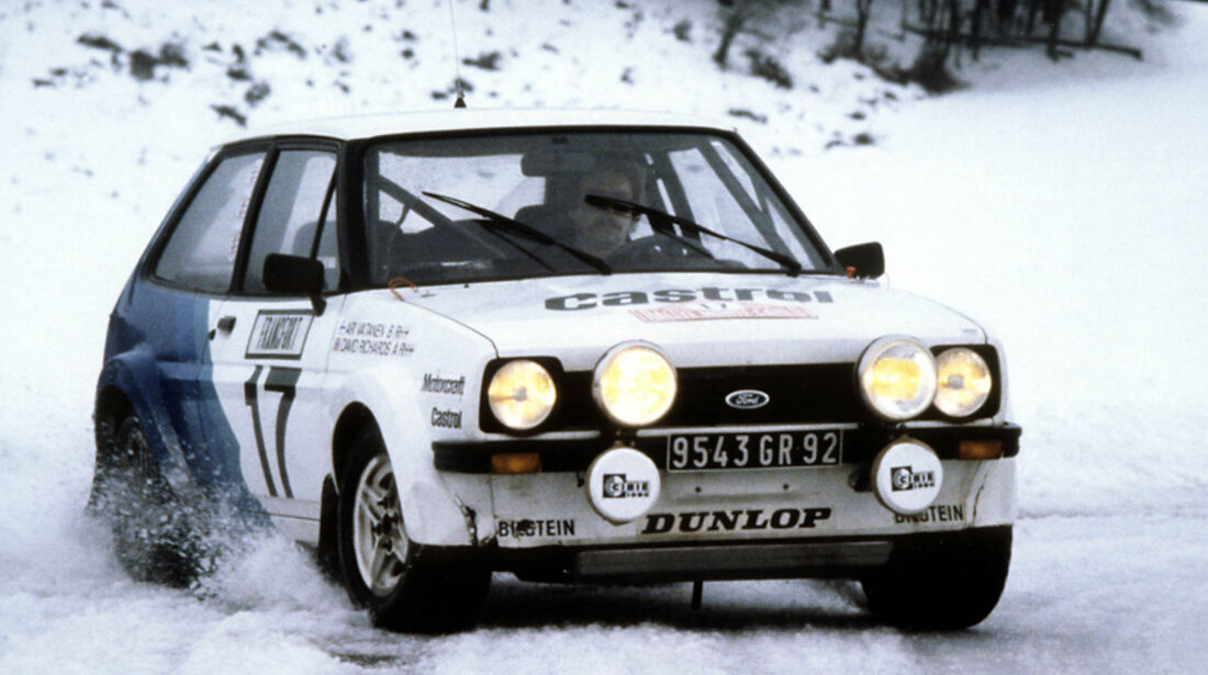 Ford Fiesta - Rallye Monte Carlo