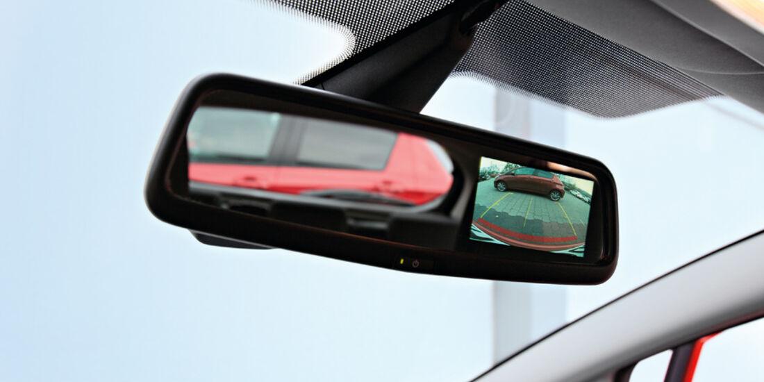 Ford Fiesta, Rückspiegel
