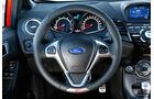 Ford Fiesta ST, Lenkrad, Rundinstrumente