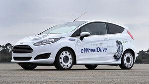 Ford Fiesta Schaeffler E-Wheel Drive