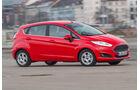 Ford Fiesta, Seitenansicht