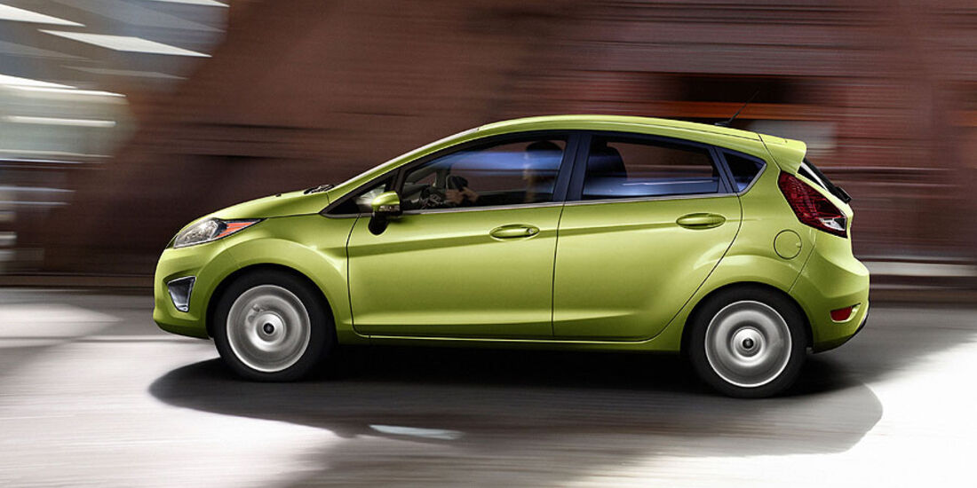 Ford Fiesta USA 2011