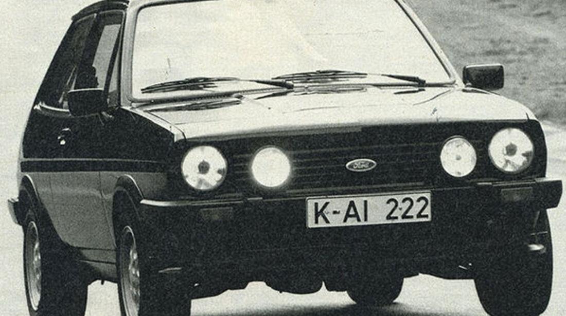 Ford, Fiesta XR2, IAA 1981