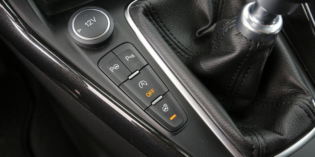 Ford Focus 1.0 Ecoboost, Mittelkonsole