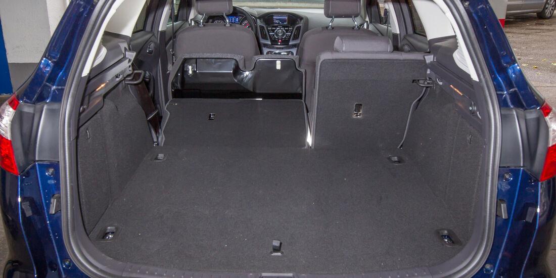 Ford Focus 1.6 Eciboost Turnier, Ladefläche, Kofferraum