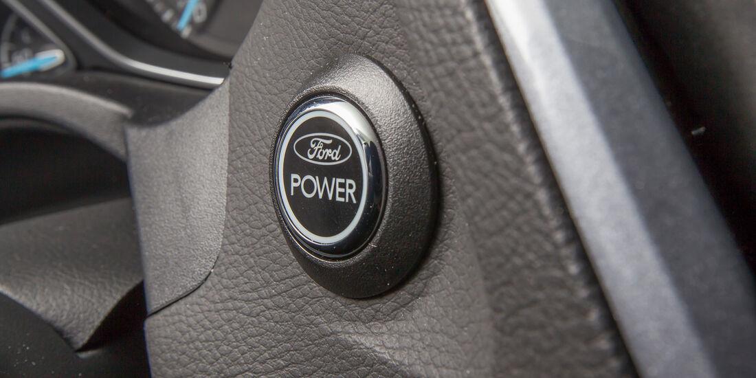 Ford Focus 1.6 Eciboost Turnier, Startknopf