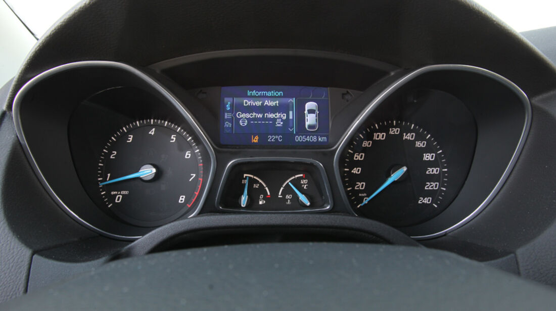 Ford Focus 1.6 Ecoboost, Bildschirm