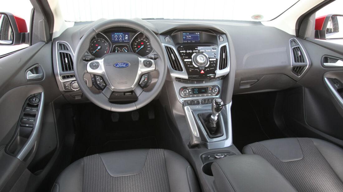 Ford Focus 1.6 Ecoboost, Cockpit