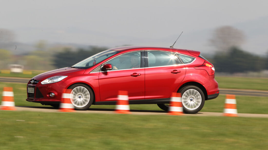 Ford Focus 1.6 Ecoboost, Teststrecke