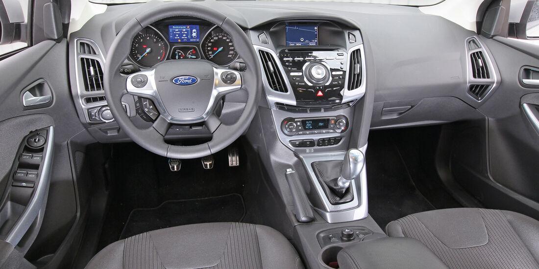 Ford Focus 1.6 Ecoboost Titanium, Cockpit