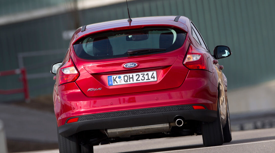 Ford Focus 2.0 TDCi, Heck