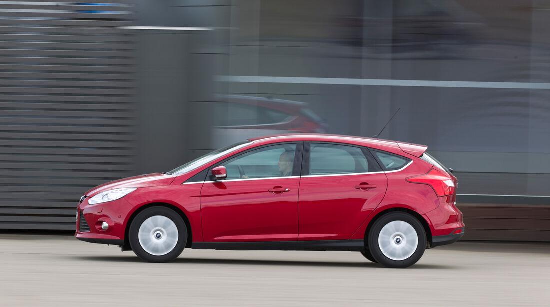 Ford Focus 2.0 TDCi, Seitenansicht