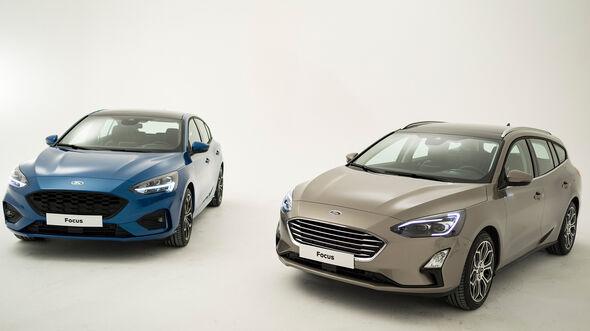 Ford Focus Fließheck ST-Line und Ford Focus Turnier Vignale (2018)