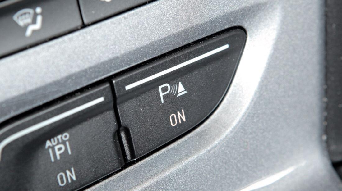 Ford Focus, Parksensoren