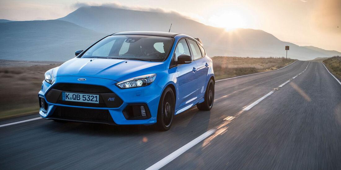 Ford Focus RS - Blue & Black - Kompaktsportwagen