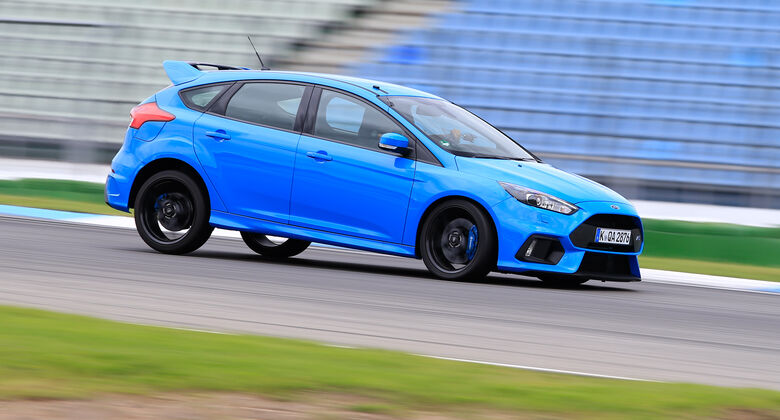 Ford Focus RS, Bremstest
