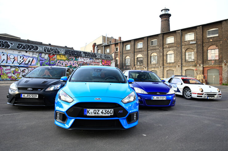 Ford Focus RS, Generationen