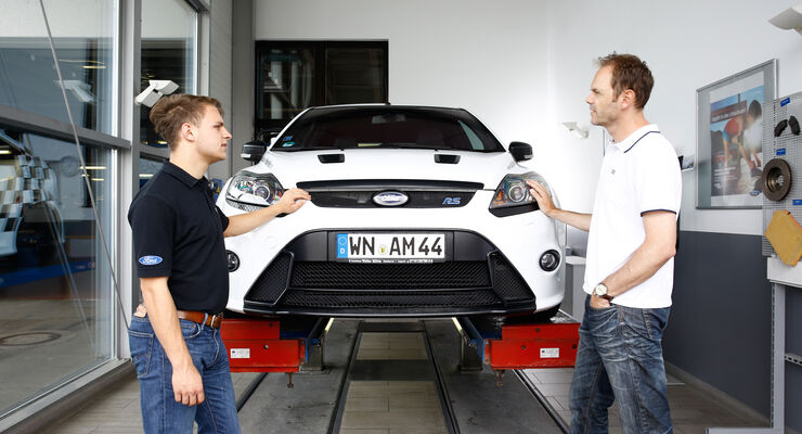 Ford Focus RS, Händler