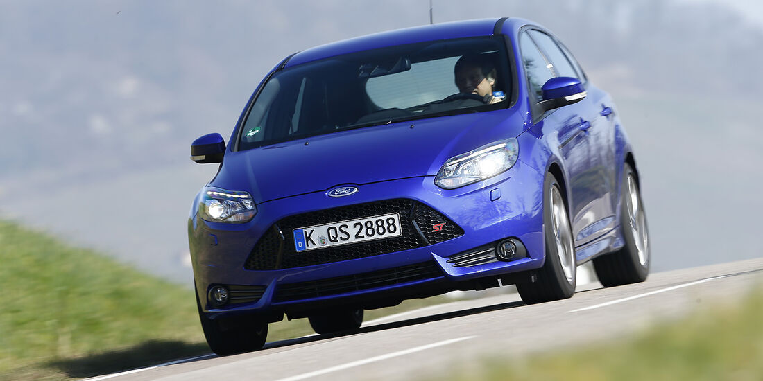 Ford Focus ST, Frontansicht, Vergleichstest, spa 05/2014