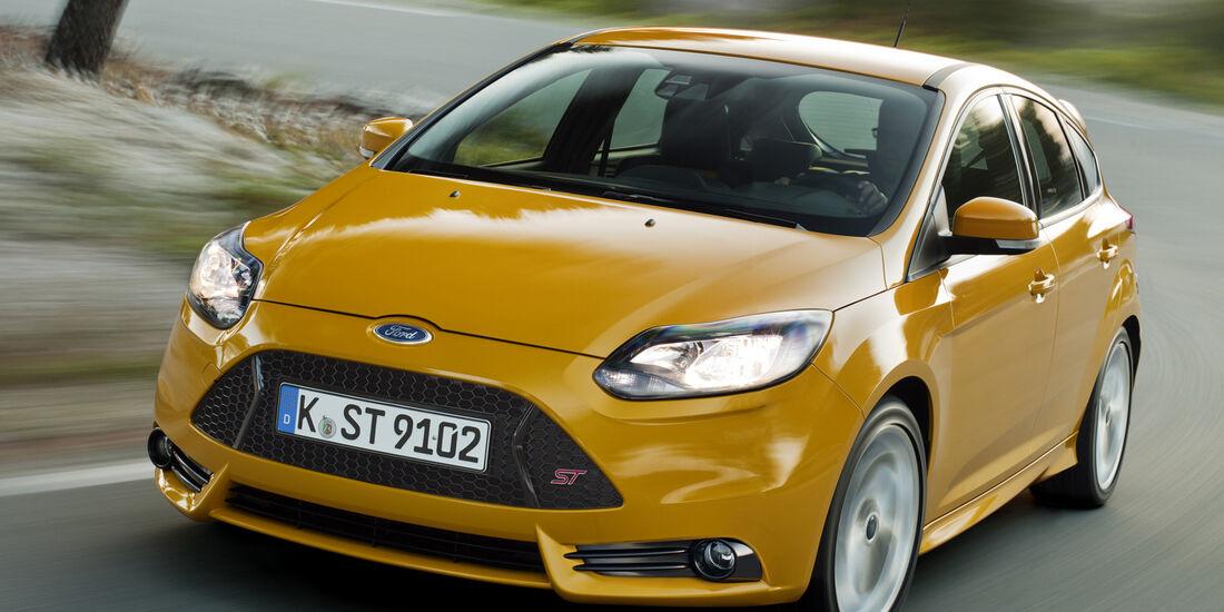 Ford Focus ST, Interieur