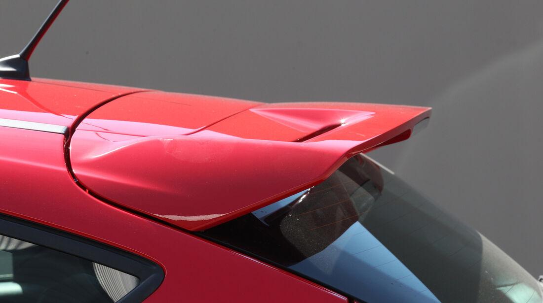 Ford Focus ST, Spoiler, Dach