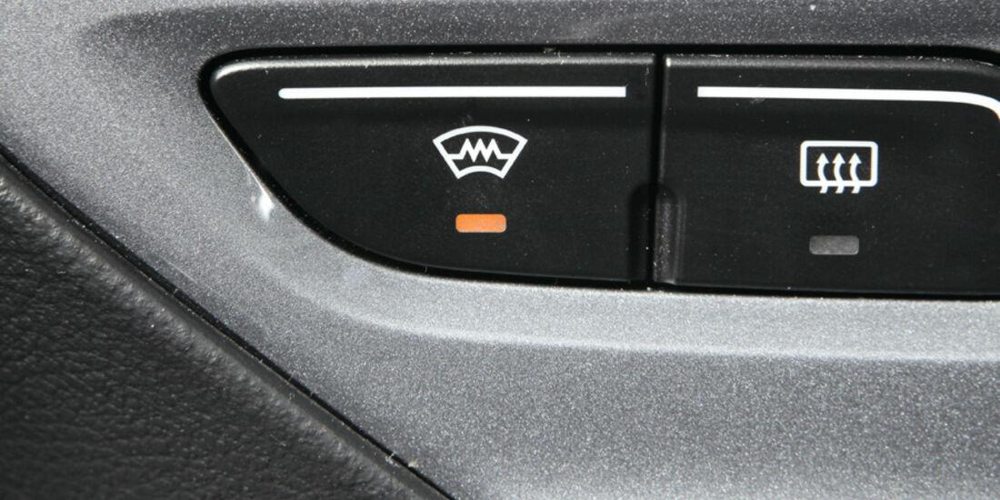 Ford Focus, Schalter, Frontscheibenheizung