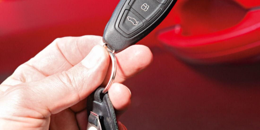 Ford Focus, Schlüssel