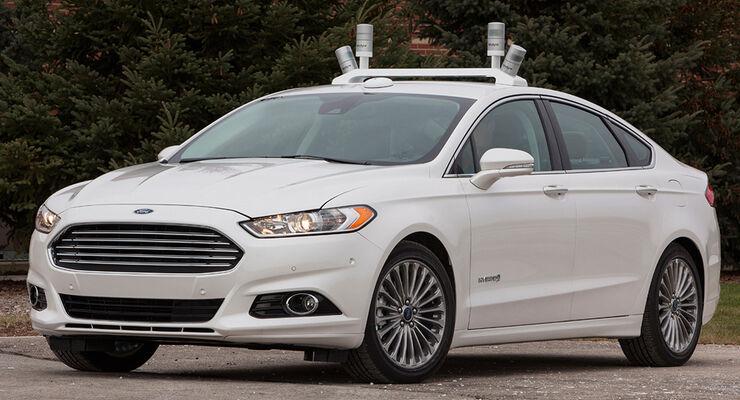 Ford Fusion Forschungsauto