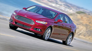 Ford Fusion, Frontansicht