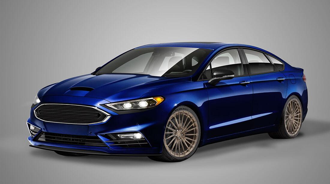Ford Fusion Legacy Sema 2016