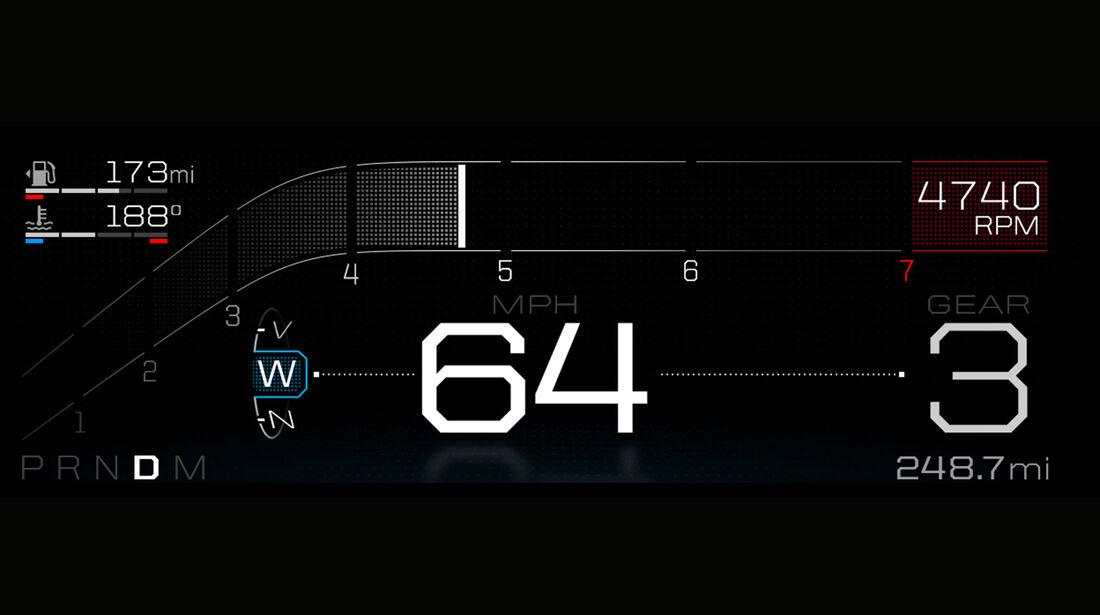 Ford GT Cockpit
