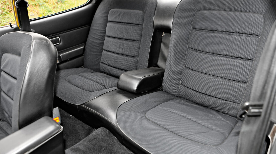 Ford Granada 2.0 l, Rücksitz