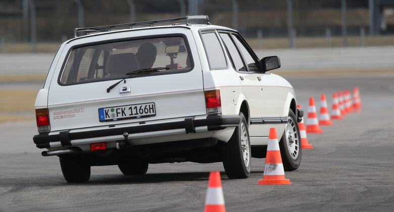 Ford Granada Turnier 2.8 Injection, Heckansicht