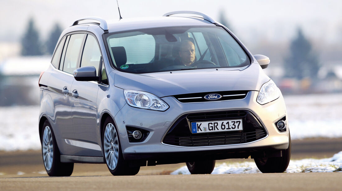 Ford Grand C-Max, Frontansicht