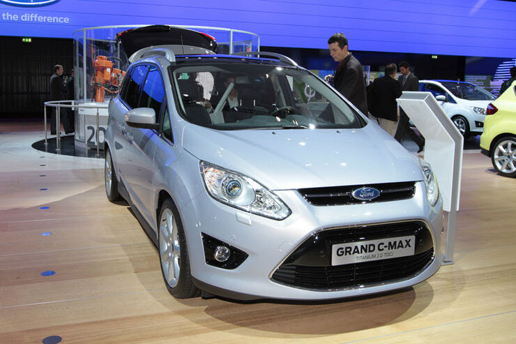 Ford Grand C-Max Paris 2010