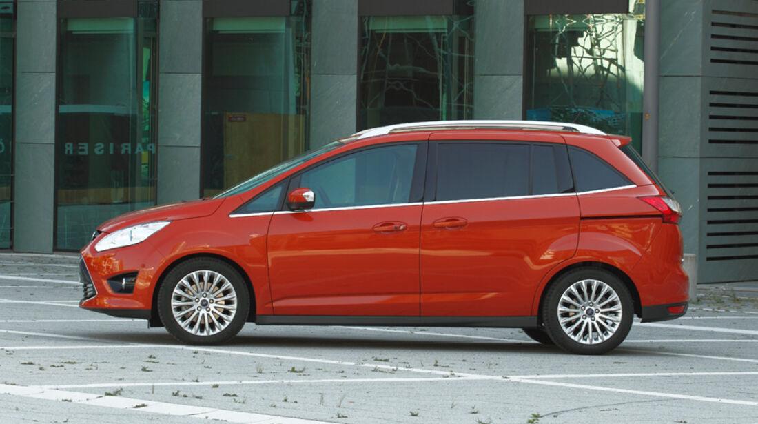 Ford Grand C-Max, Seitenansicht