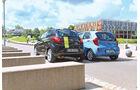 Ford KA Titanium, Kia Picanto ISG Spirit, Heck