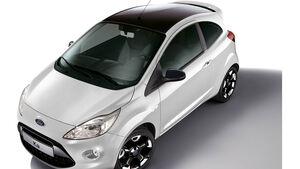 Ford Ka Sondermodell Black White Edition