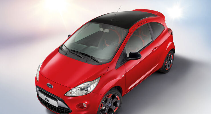 Ford Ka Sondermodell Red and Black Edition