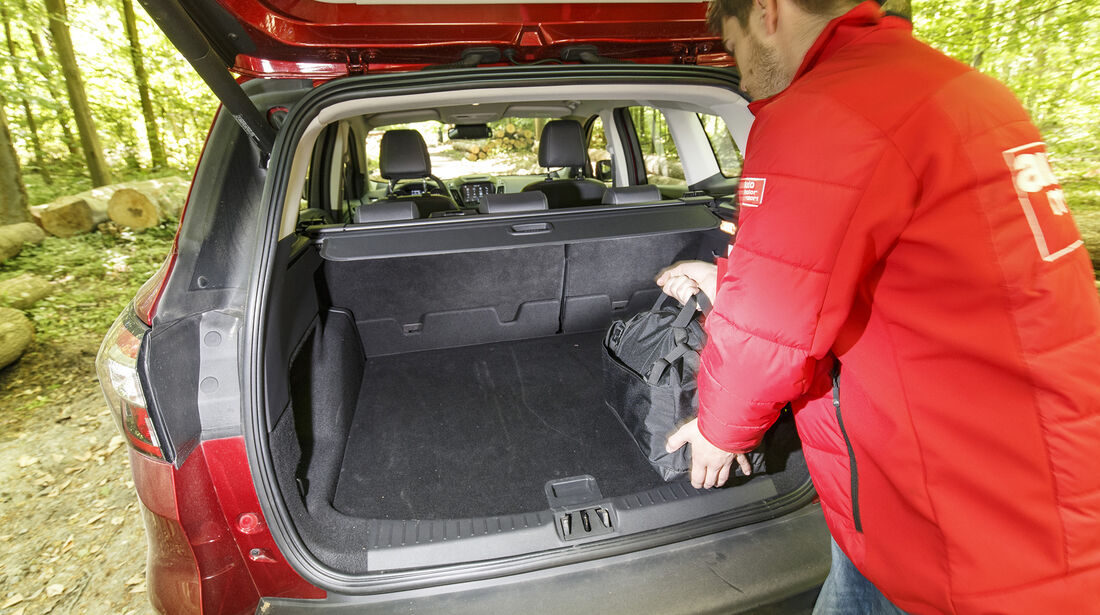Ford Kuga 2.0 TDCi 4x4 DKG, Kofferraum